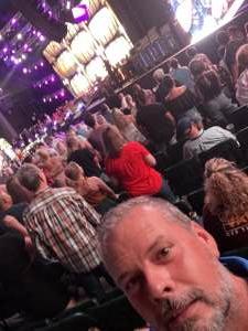 Chet attended Brad Paisley Tour 2021 on Aug 14th 2021 via VetTix