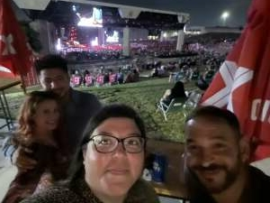 Jeanette  attended Brad Paisley Tour 2021 on Aug 14th 2021 via VetTix