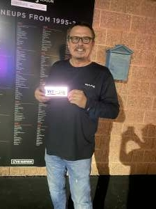 Rob attended The Black Crowes Present: Shake Your Money Maker on Jul 25th 2021 via VetTix