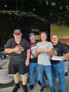 Gus attended The Black Crowes Present: Shake Your Money Maker on Jul 25th 2021 via VetTix