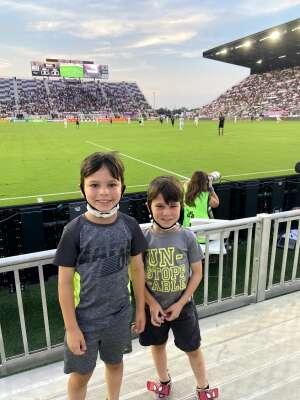 Luis attended Inter Miami CF vs. Philadelphia Union - MLS on Jul 25th 2021 via VetTix