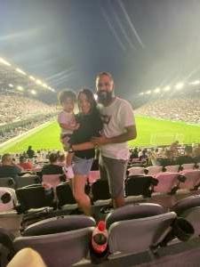 Laz attended Inter Miami CF vs. Philadelphia Union - MLS on Jul 25th 2021 via VetTix