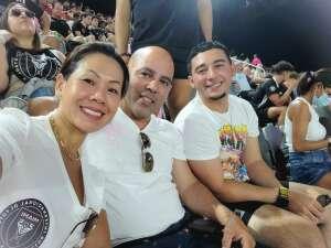 Gman attended Inter Miami CF vs. Philadelphia Union - MLS on Jul 25th 2021 via VetTix
