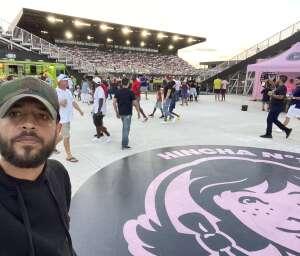 Emilio  attended Inter Miami CF vs. Philadelphia Union - MLS on Jul 25th 2021 via VetTix