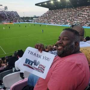 Jason attended Inter Miami CF vs. Philadelphia Union - MLS on Jul 25th 2021 via VetTix