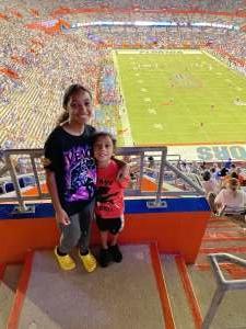 Chris  attended University of Florida Gators vs. Florida Atlantic University Owls - NCAA Football on Sep 4th 2021 via VetTix