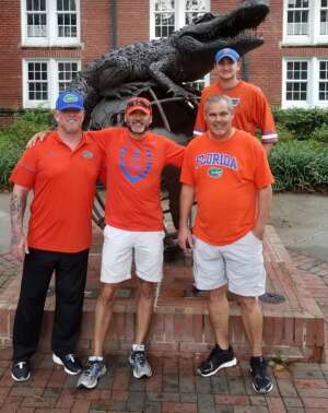 Mitchell attended University of Florida Gators vs. Florida Atlantic University Owls - NCAA Football on Sep 4th 2021 via VetTix