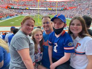 Ken attended University of Florida Gators vs. Florida Atlantic University Owls - NCAA Football on Sep 4th 2021 via VetTix