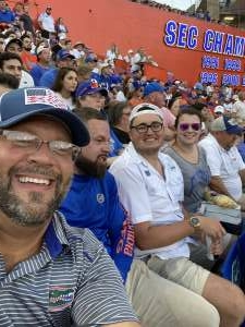 Harley Haynes attended University of Florida Gators vs. Florida Atlantic University Owls - NCAA Football on Sep 4th 2021 via VetTix