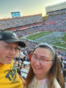 Lawsin Whitfield attended University of Florida Gators vs. Florida Atlantic University Owls - NCAA Football on Sep 4th 2021 via VetTix