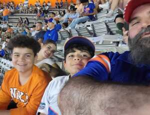 Randy  attended University of Florida Gators vs. Florida Atlantic University Owls - NCAA Football on Sep 4th 2021 via VetTix