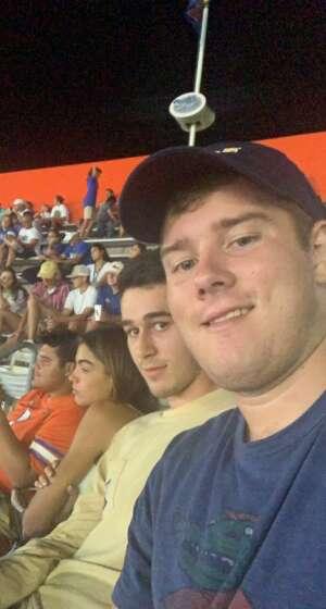 J  attended University of Florida Gators vs. Florida Atlantic University Owls - NCAA Football on Sep 4th 2021 via VetTix