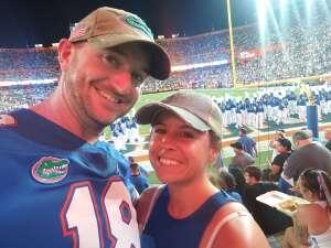 Curtis S attended University of Florida Gators vs. Florida Atlantic University Owls - NCAA Football on Sep 4th 2021 via VetTix
