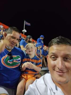 Marshall attended University of Florida Gators vs. Florida Atlantic University Owls - NCAA Football on Sep 4th 2021 via VetTix