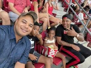 Brandon attended Cincinnati Reds vs St. Louis Cardinals - MLB on Jul 24th 2021 via VetTix