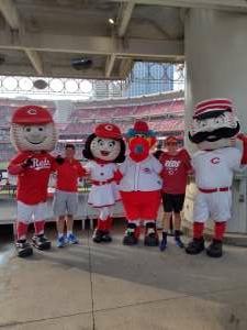 Tim attended Cincinnati Reds vs St. Louis Cardinals - MLB on Jul 24th 2021 via VetTix