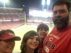 John attended Cincinnati Reds vs St. Louis Cardinals - MLB on Jul 24th 2021 via VetTix