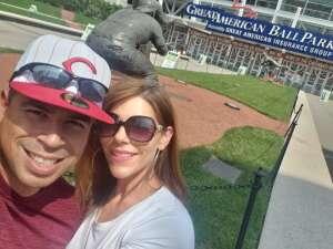 Joe attended Cincinnati Reds vs St. Louis Cardinals - MLB on Jul 24th 2021 via VetTix