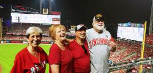 Mike Williams attended Cincinnati Reds vs St. Louis Cardinals - MLB on Jul 24th 2021 via VetTix