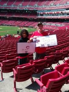 PhillipT attended Cincinnati Reds vs St. Louis Cardinals - MLB on Jul 24th 2021 via VetTix