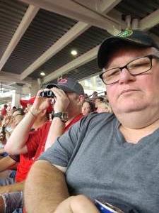 Donnie Allen attended Cincinnati Reds vs St. Louis Cardinals - MLB on Jul 24th 2021 via VetTix