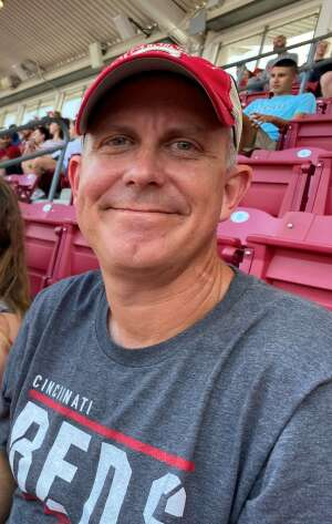 Pat S.  attended Cincinnati Reds vs St. Louis Cardinals - MLB on Jul 24th 2021 via VetTix