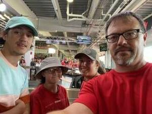 Brad B attended Cincinnati Reds vs St. Louis Cardinals - MLB on Jul 24th 2021 via VetTix