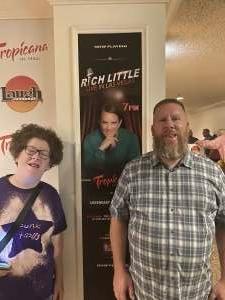 Tom attended Rich Little on Jul 23rd 2021 via VetTix
