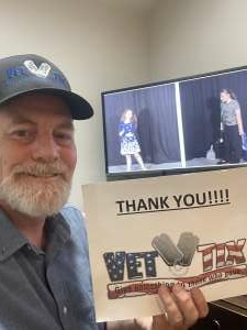David attended Voices of Youth Theatre Festival - Virtual Event on Jul 29th 2021 via VetTix
