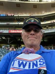 Jim U attended Minnesota Twins vs. Blue Jays - MLB on Sep 23rd 2021 via VetTix