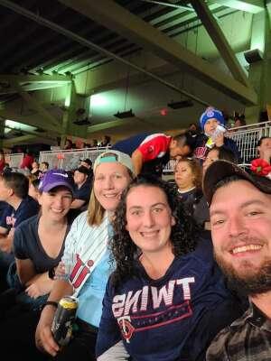 Michelle attended Minnesota Twins vs. Blue Jays - MLB on Sep 25th 2021 via VetTix