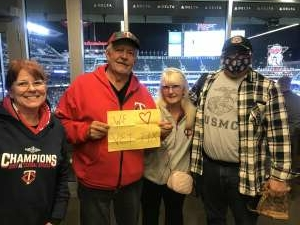 Rabbit at Twins attended Minnesota Twins vs. Blue Jays - MLB on Sep 25th 2021 via VetTix