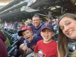 Jeff Hortenbach attended Minnesota Twins vs. Blue Jays - MLB on Sep 25th 2021 via VetTix