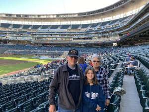 Jim U attended Minnesota Twins vs. Blue Jays - MLB on Sep 25th 2021 via VetTix