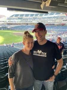 Chad M. attended Minnesota Twins vs. Blue Jays - MLB on Sep 25th 2021 via VetTix