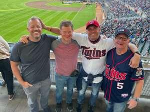 Ry attended Minnesota Twins vs. Blue Jays - MLB on Sep 25th 2021 via VetTix