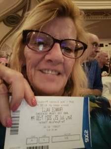Sue attended FRANKIE VALLI & THE 4 SEASONS on Jul 25th 2021 via VetTix