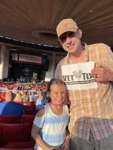 Anthony Laurenzi attended Lady A: What a Song Can Do Tour 2021 on Jul 31st 2021 via VetTix