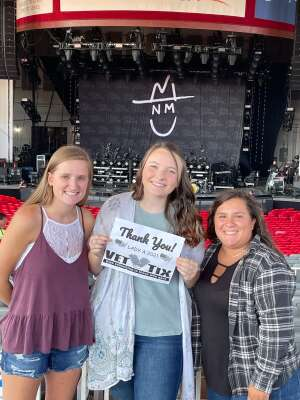 Brian attended Lady A: What a Song Can Do Tour 2021 on Jul 31st 2021 via VetTix
