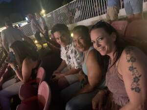 Robyn attended Lady A: What a Song Can Do Tour 2021 on Jul 31st 2021 via VetTix
