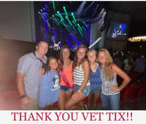 Terry attended Lady A: What a Song Can Do Tour 2021 on Jul 31st 2021 via VetTix