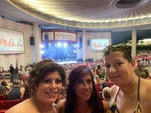 SABRINA LENHART attended Lady A: What a Song Can Do Tour 2021 on Jul 31st 2021 via VetTix