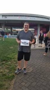 Rafael  attended Lady A: What a Song Can Do Tour 2021 on Jul 31st 2021 via VetTix
