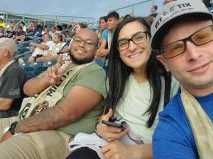 Tony attended Philadelphia Union vs. Chicago Fire - MLS ** Military Appreciation Night ** on Aug 1st 2021 via VetTix