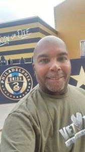 Ron attended Philadelphia Union vs. Chicago Fire - MLS ** Military Appreciation Night ** on Aug 1st 2021 via VetTix