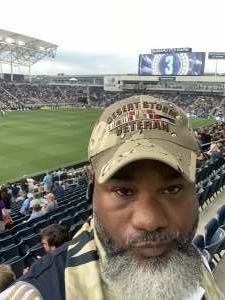 George Berry attended Philadelphia Union vs. Chicago Fire - MLS ** Military Appreciation Night ** on Aug 1st 2021 via VetTix