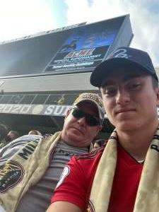 Joe Reed attended Philadelphia Union vs. Chicago Fire - MLS ** Military Appreciation Night ** on Aug 1st 2021 via VetTix