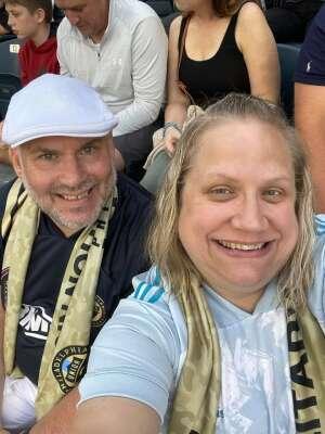 Todd attended Philadelphia Union vs. Chicago Fire - MLS ** Military Appreciation Night ** on Aug 1st 2021 via VetTix