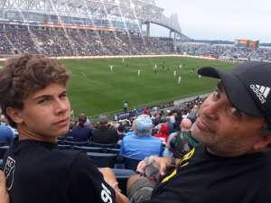 Joe  attended Philadelphia Union vs. Chicago Fire - MLS ** Military Appreciation Night ** on Aug 1st 2021 via VetTix