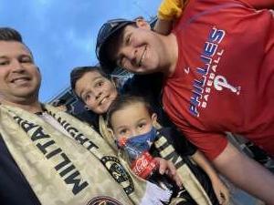 Christopher Finstad attended Philadelphia Union vs. Chicago Fire - MLS ** Military Appreciation Night ** on Aug 1st 2021 via VetTix